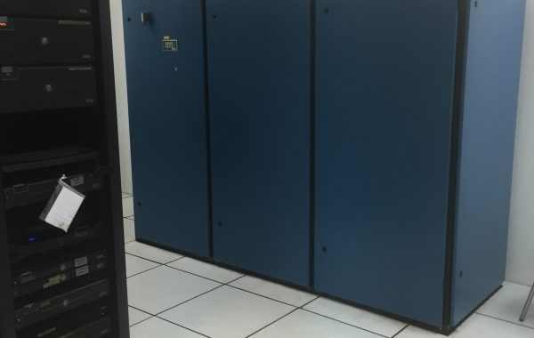 Installation of crac unit at server room