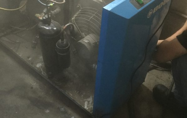 Servicing of air dryer
