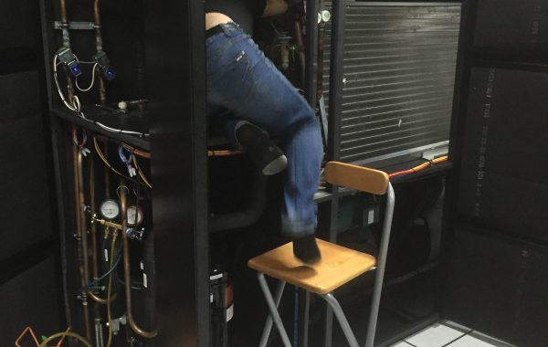 Trouble shooting chiller malfunction